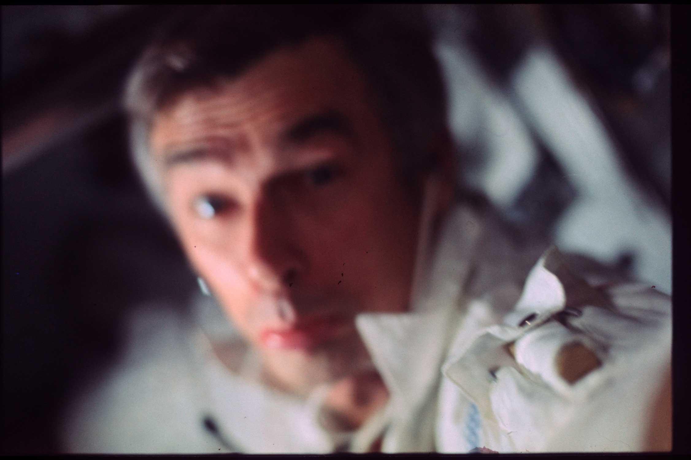 astronaut gene cernan apollo 17 interior